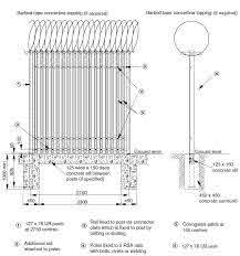 Security Steel Palisade Fences And Gates In Corrugated Pales Sp Fence