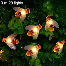 Available On Sale Solar Powered Honey Bee Led String Light For Garden Fence Christmas Garland Lazada Ph