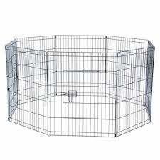 24 Tall Wire Fence 30 Tall Wire Fence Pet Dog Cat Folding Exercise Yard 8 Panel Metal Play Pen Houses Kennels Pens Aliexpress