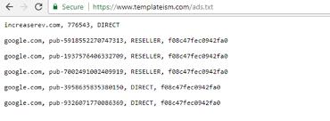 custom ads txt file in ger spot