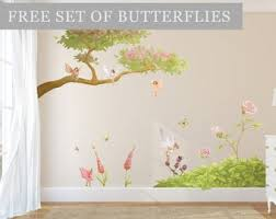 Fairy Wall Stickers Etsy