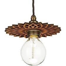 wooden star shaped shade fits easily to