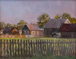Fence Painting By Alexandr Dolosov Saatchi Art