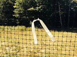 Deer Fence Warning Flag Spool