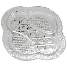 imperial glass cape cod relish dish