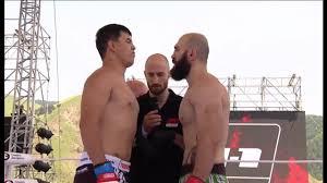 Нурбек Исмаилов vs Гига Кухалашвили, M-1 Challenge 81 - YouTube