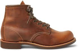 blacksmith oil tanned leather boots