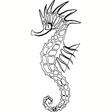 Hoosierdecal Cool Seahorse Fish Vinyl Decal For Boat Car Window Hoosierdecal