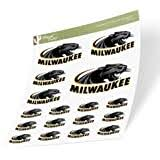 Amazon Com University Of Wisconsin Milwaukee Uwm Panthers Ncaa Vinyl Decal Laptop Water Bottle Car Scrapbook Sticker 002 Arts Crafts Sewing