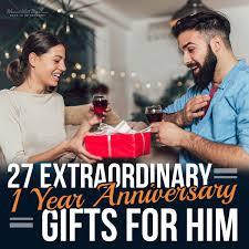 extraordinary 1 year anniversary gifts