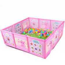 Buy Portable Plastic Children S Playpen Baby Safety Fence Folding Play Fence Indoor Climbers Play Structures At Jo