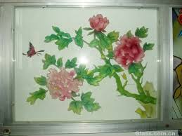 color painting glass paint paint glass