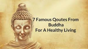 quotes by buddha for a healthy living