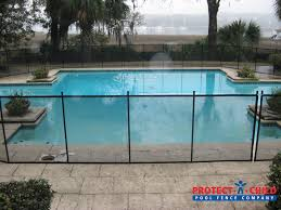 Http Protectachild Com Pool Fence Or Child Safety Fence Backyard Swimming Pool Pool Fence Pool Patio Pool