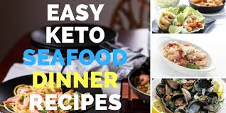 Keto Dinner Recipes: 20+ Easy Seafood ...