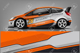 Car Decal Wrap Design Vector Graphic Abstract Stripe Racing Royalty Free Cliparts Vectors And Stock Illustration Image 121081413