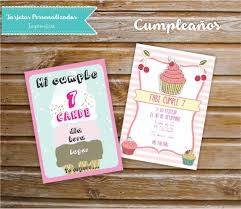 Tarjeta Cumpleanos Personalizada 150 00 En Mercado Libre