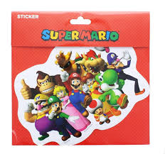 Free Shipping Super Mario Bros Party Car Decal Toynk Toys