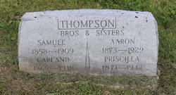 Priscilla Thompson (1871-1942) - Find A Grave Memorial