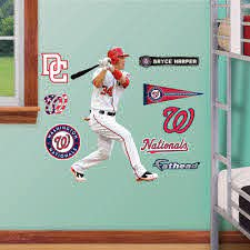 Shop Fathead Jr Bryce Harper Wall Decals Overstock 9762012
