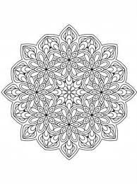 Kids N Fun Com 24 Coloring Pages Of Mandala Adults