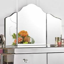large trifold vanity mirror makeup