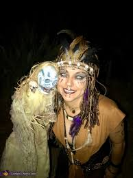 witch dr with voodoo doll costume