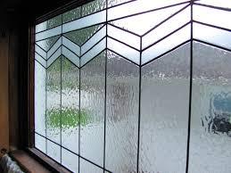diy leaded glass window