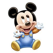 Cara Mickey Mouse Bebe Vector