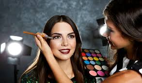 camera ready makeup and dressing for