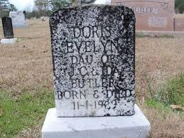 Doris Evelyn Butler (1929-1929) - Find A Grave Memorial