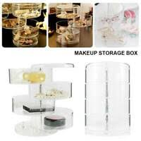 acrylic clear makeup cosmetic organizer