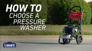Choose The Best Pressure Washer Lowe S
