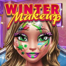 game detail play winter makeup on