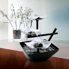 homedics envirascape rock garden table