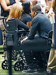 Raquel Smith, Wife of Slain Footballer Will Smith Makes First Public  Appearance at His Funeral - Essence