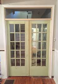 how to install french doors with a