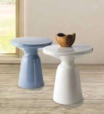 glass pedestal table ocean vivaterra