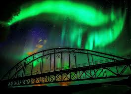 attracted by the northern lights