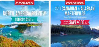 cosmos tours 2018 early booking deals