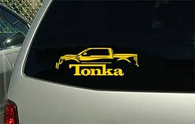 2013 Ford F150 Tonka Pick Up Truck Decal Sticker Wall Graphic Etsy