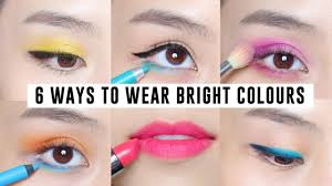 6 easy ways to wear bright makeup you