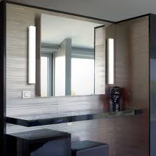 bathroom mirror with vertical side