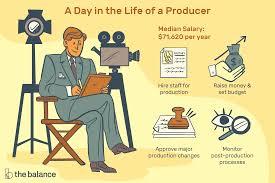 producer job description salary