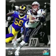 Rob Gronkowski Memorabilia Autographed Rob Gronkowski Collectibles Www Sportsmemorabilia Com