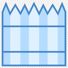 Fence Computer Icons Wall Door Security Fence Blue Angle Png Pngegg