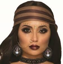 fortune teller cameo earrings gypsy