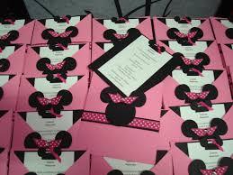 Minnie Mickey Invitacion Imprimir 1 Tarjetas Cumpleanos Para