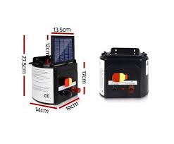 5km Solar Power Electric Fence Energiser Charger Afterpay Zippay Later Gator