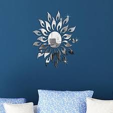 3d mirror wall decal decor art stickers